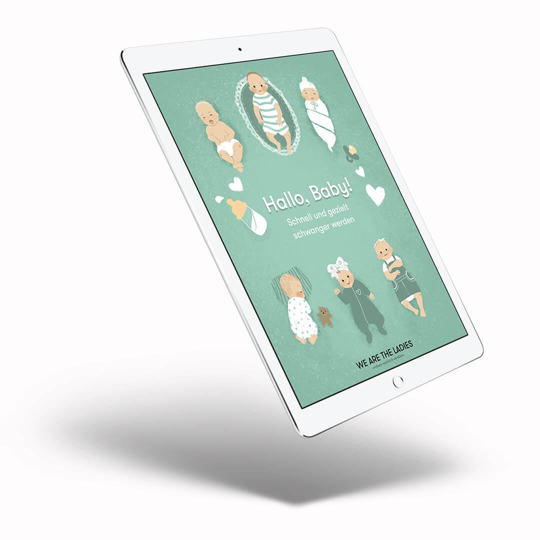 ebook zum Thema schnell und gezielt schwanger werden